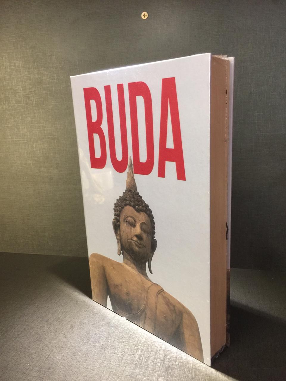 CAIXA LIVRO BUDA - M