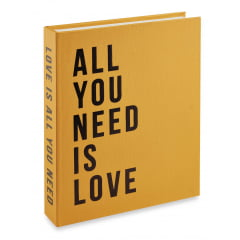 LIVRO CAIXA ALL YOU NEED IS LOVE 11705