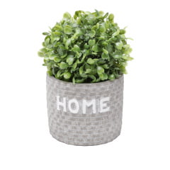 CACHEPOT CONCRETO HOME BRICKS CINZA