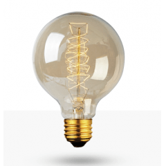 Lâmpada Filamento de Carbono Retro G-95
